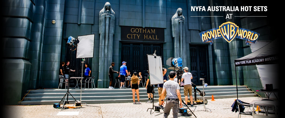 NYFA Australia Hot Sets at Warner Bros. Movie World.
